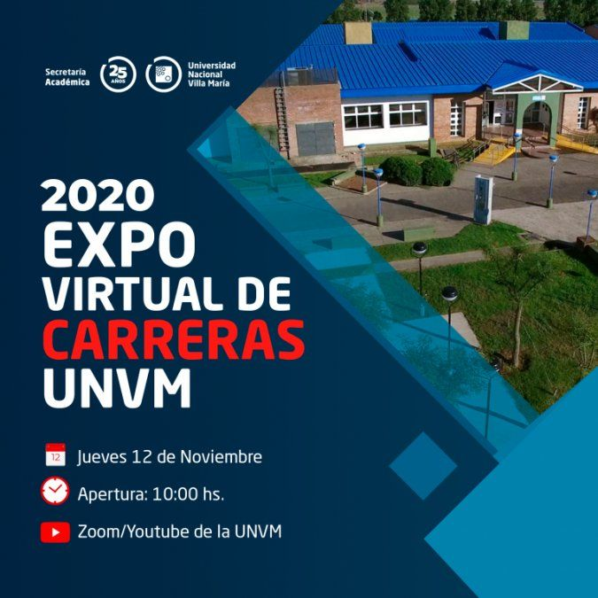 La UNVM lanza la Expo Virtual de Carreras