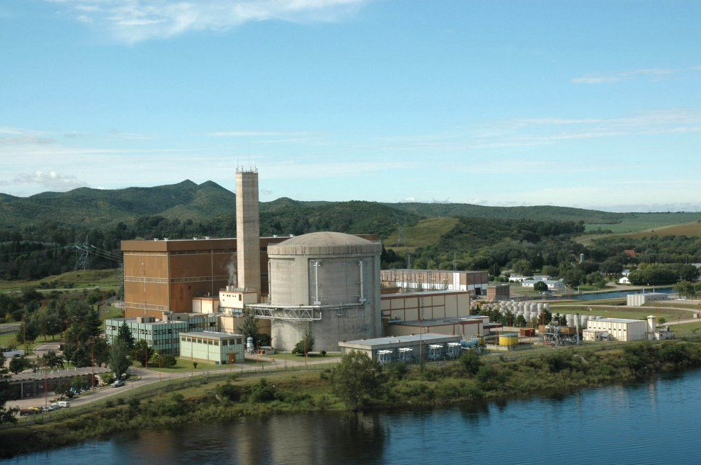 Central Nuclear Embalse.