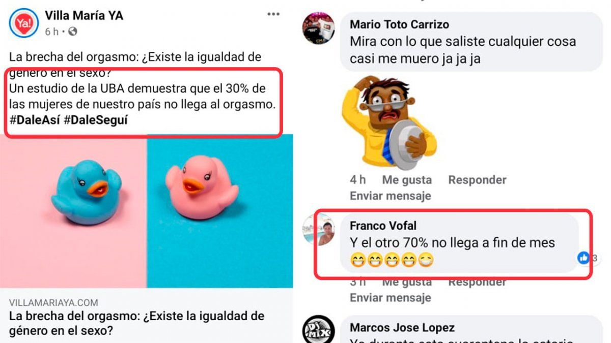 Top Five de comentarios grosos